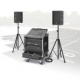 RCS Audio-Systems PCS-600 Portable Compact-System, 600 W RMS