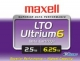 Maxell Data Cartridge LTO-6 - 2.50 TB (Native) / 6.25 TB (Compressed)