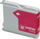 Brother LC1000M Ink Cartridge - Magenta - Inkjet - 400 Page - 1 Pack