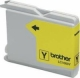 Brother LC1000Y Ink Cartridge - Yellow - Inkjet - 400 Page - 1 Pack
