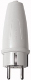 Merten 123463 safety plug, PVC gray,
