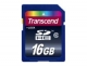 Transcend flash memory card - 16 GB - SDHC
