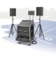 RCS Audio-Systems PCS-1200 L Portable Compact System, 500 W RMS, Line-Array