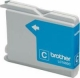 Brother LC-1000C Ink Cartridge - Cyan - Inkjet - 400 Page - 1 Pack