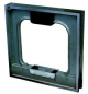 MIB Messzeuge 06072027 Precision frame spirit level made of cast iron, in a wooden case