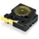 Dymo 18056 Wire & Cable Label - 12 mm Width x 1500 mm Length - Rectangle - Thermal Transfer - Yellow